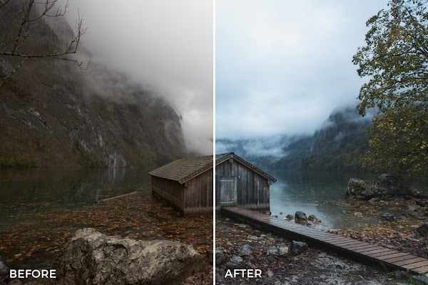 *NEW PRODUCT!* 12 Preset Cool and Moody Landscape Looks