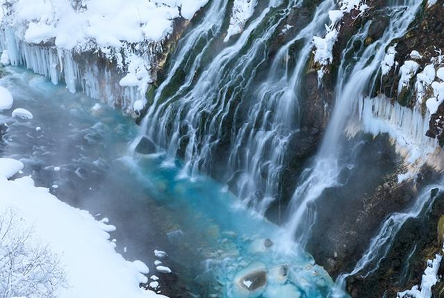 น้ำตกชิโรฮิเงะ (Shirahige Waterfal: 白ひげの滝)