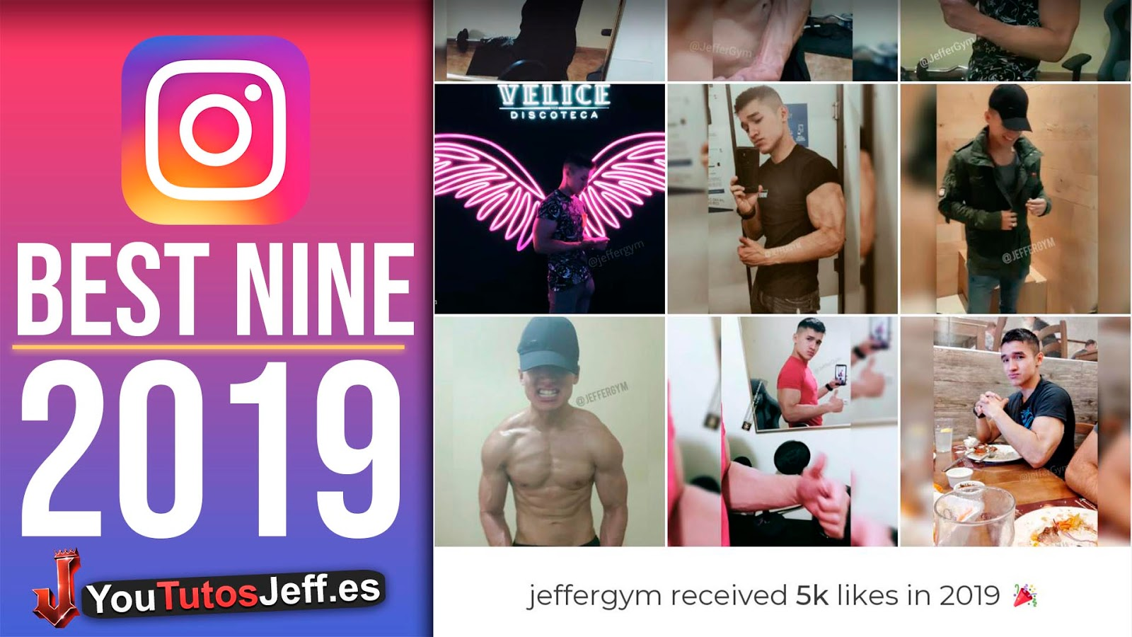 Hacer Instagram Best Nine 2019 🔥 Tus Fotos con mas Likes Instagram