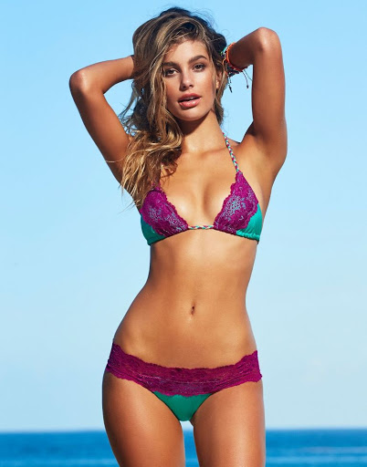 Camila Morrone bikini models photoshoot for Beach Bunny Swimwear 2016