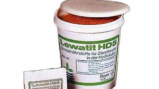 Pupuk hidroponik Lewatit HD-5