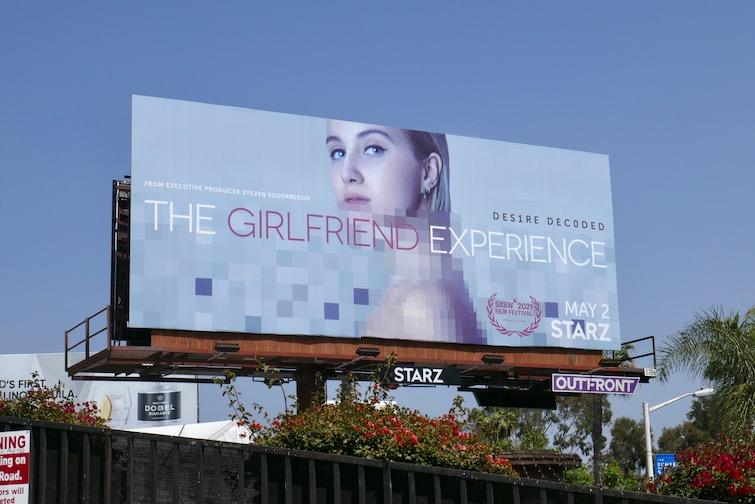 Girlfriend Experience season 3 billboard