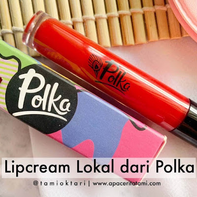 [REVIEW] Polka Matteness Lip Lacquer Shade Get In The Swing