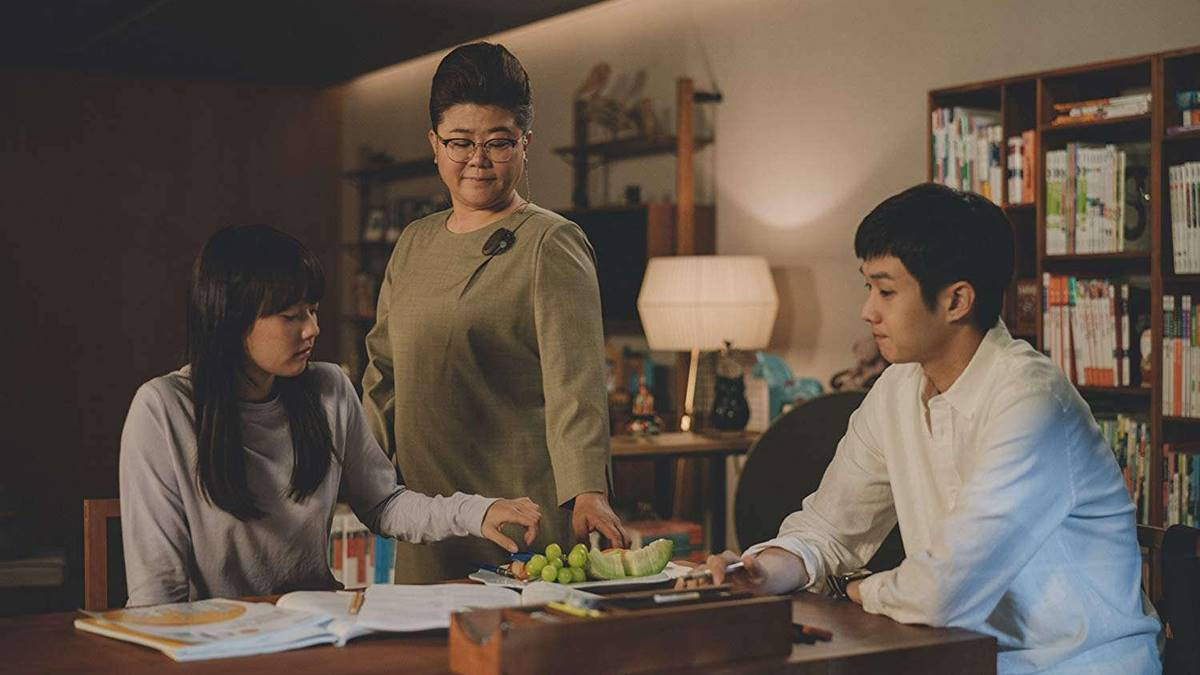 Ki Woo sebagai guru bahasa Inggris Da Hye