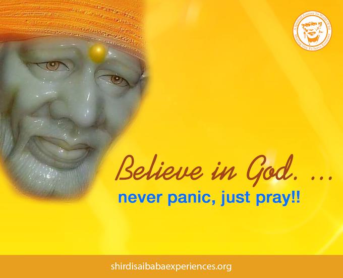 Sai MahaParayan Miracle In My Life