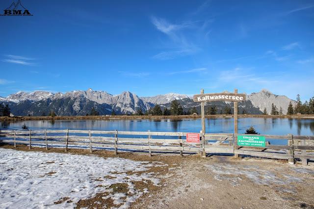 wandern Seefeld - Kaltwassersee - Rosshütte - Premiumwanderweg BMA - wandern Tirol