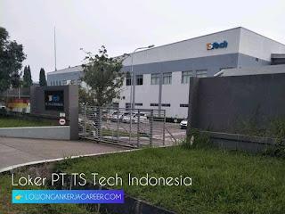 Lowongan Kerja PT TS Tech Indonesia Purwakarta 2020
