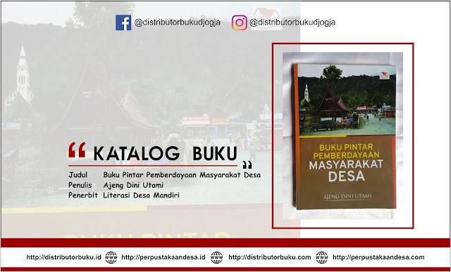 Buku Pintar Pemberdayaan Masyarakat Desa