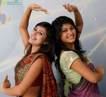Anika Kabir Shokh and Sarika Banglalink Beautiful photo