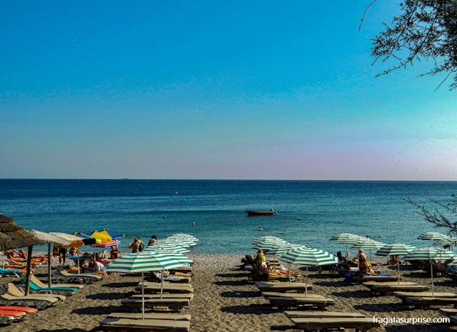 Praia de Elli, Cidade de Rodes, Dodecaneso, Grécia
