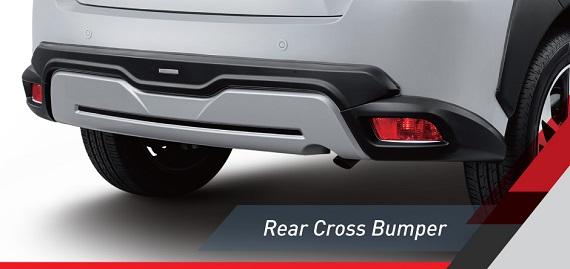 rear cross bumper yaris heykers