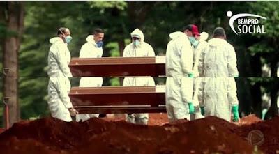 Bem Pro Social presta homenagem aos mortos pelo Coronavírus e pede às autoridades mais responsabilidade no combate da pandemia