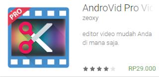 Aplikasi Video Editor Keren Untuk Androidmu