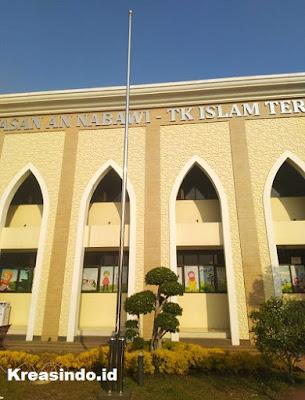Tiang Bendera Stainless pesanan Bpk Taufik untuk Masjid An Nabawi di Cipondoh Tangerang