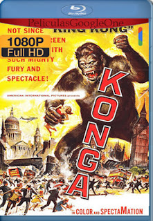 Konga (1961) [1080p BRrip] [Latino-Inglés] [LaPipiotaHD]