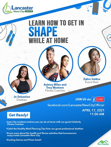 Learn how to get in shape while at home