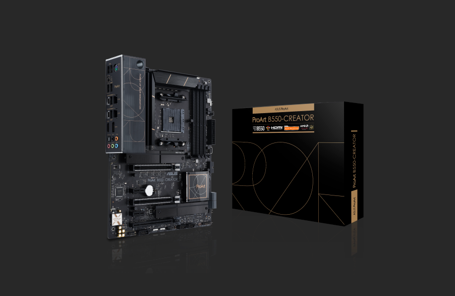 ASUS anuncia la placa base ProArt B550-Creator