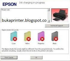 Atasi initial ink charging is not complete l120 - Dokter Printer