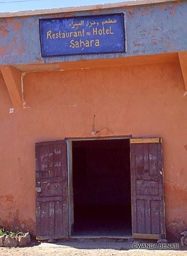 Caratteristico locale in Marocco
