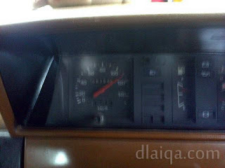 iseng-iseng lihat speedometer ketika melintas di jalan tol menuju Merak (1)
