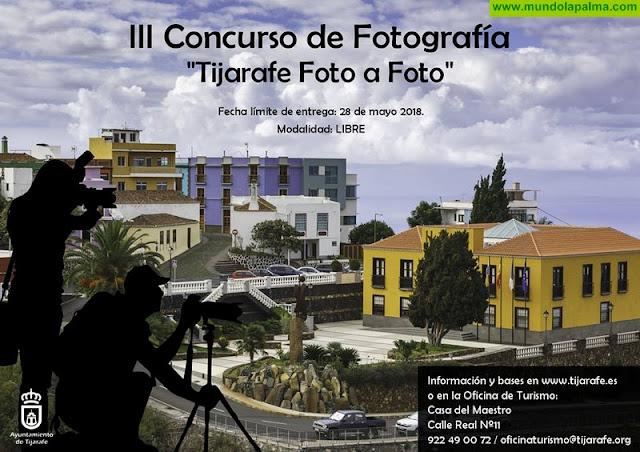 """Tijarafe convoca el 3º concurso de fotografía """"Tijarafe Foto a Foto"""""""
