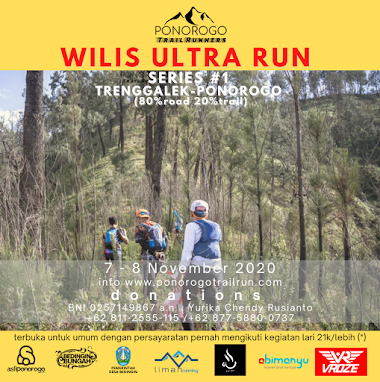 Wilis Ultra Run series 1 Trenggalek - Ponorogo (road)