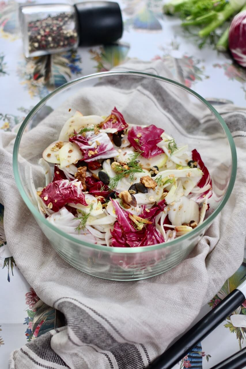 Radicchio Fenchel Salat