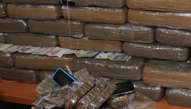 Saisie de 5 tonnes de Haschisch à Tanger.