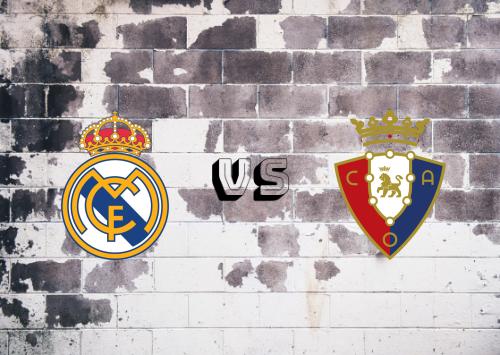 Real Madrid vs Osasuna  Resumen y Partido Completo