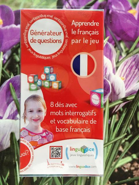 Recenzja #145 - Générateur de questions - opakowanie - Francuski przy kawie