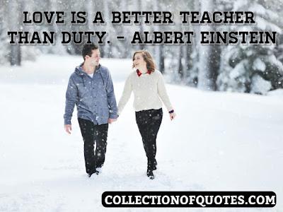 Albert Einstein about war, life, and love