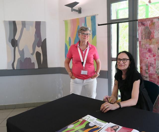 ART-TEX and Paola Zanda exhibition at Aigu'illes en Luberon festival 2019