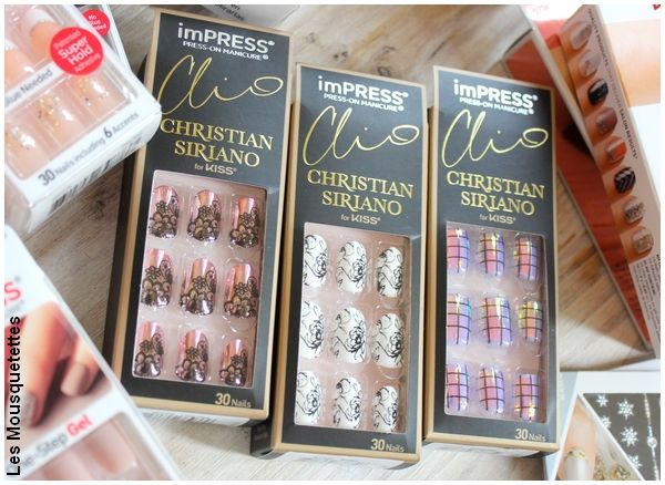 Kits manucure imPress, Kiss Products x Christian Siriano - Blog beauté