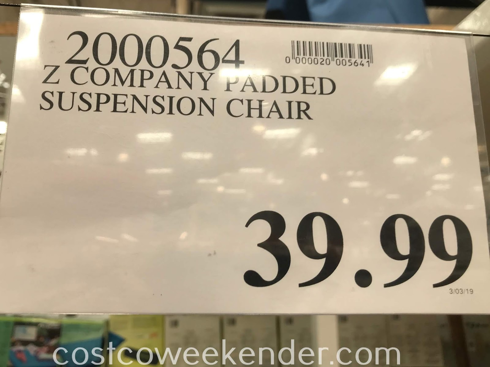 Deal for the Z Company Bungee Lounger at Costco