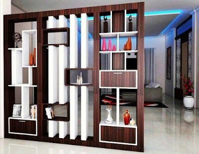 model pembatas ruangan minimalis terbaru