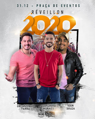 Em Delmiro Gouveia, shows de duas bandas na Festa de Réveillon  2020  custaram R$ 75  mil