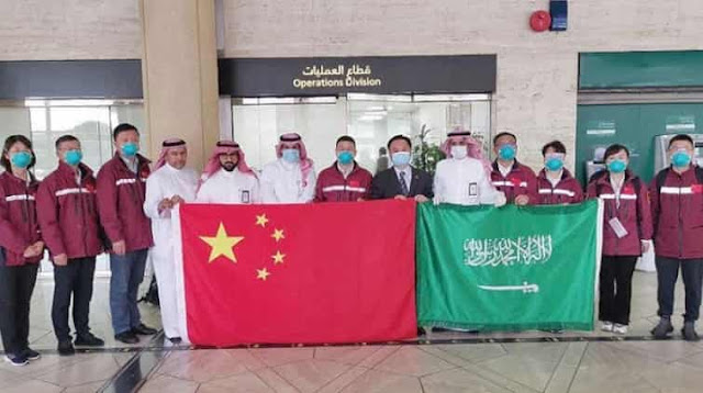 China medical experts team arrived in Saudi Arabia to help in combating with the virus - Saudi-ExpatriatesCom