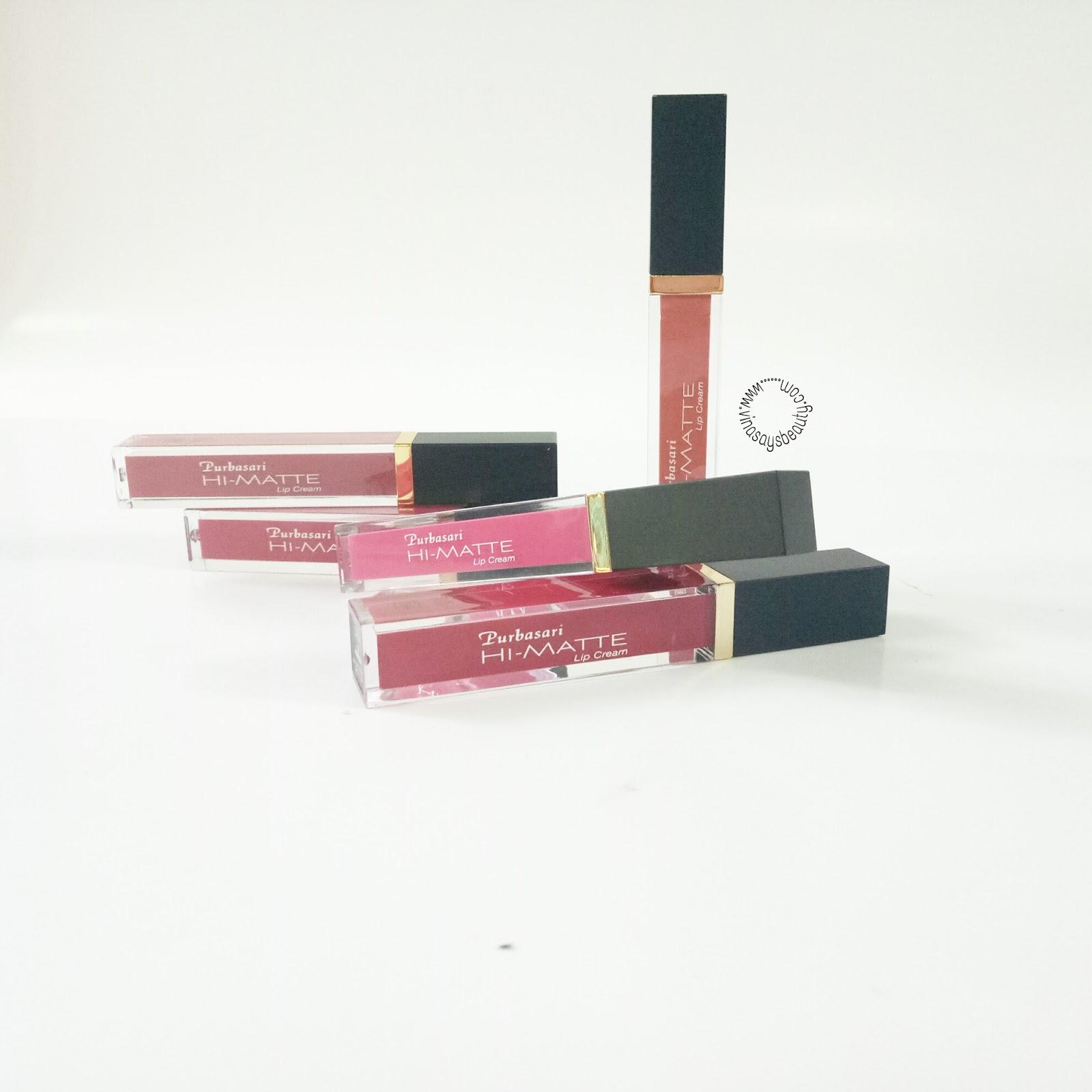 Sp Review Purbasari Hi Matte Lip Cream Vina Says Beauty