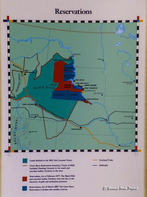 Territorios de los Sioux según los Tratados con EEUU