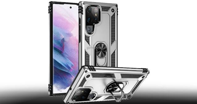 تعطينا حافظة Galaxy S22 Ultra المسربة نظرة أخرى على التصميم