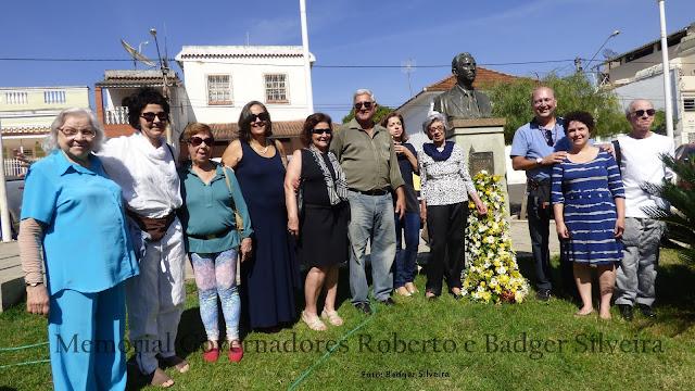 Resultado de imagem para inauguração do memorial governadores roberto e badger silveira