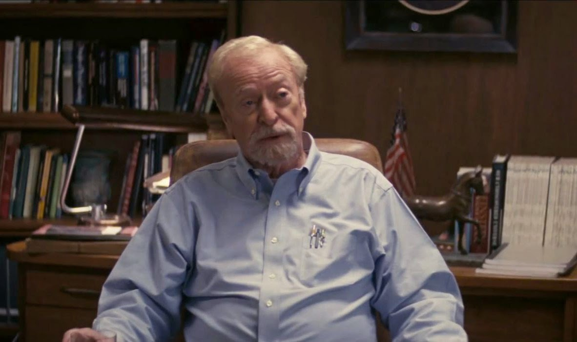 Michael Caine as Professor Brand in Interstellar, Directed by Christopher Nolan