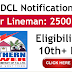TS Junior lineman notification 2019 TSSPDCL direct recruitment of 2500 junior lineman posts