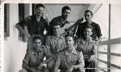 Photo de famille : militaria