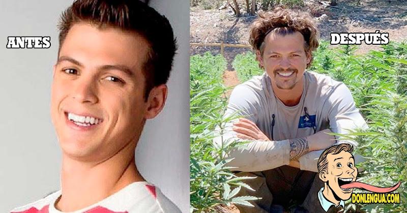 """Actor de """"Somos tú y yo"""" hoy en día cultiva marihuana en los Estados Unidos"""