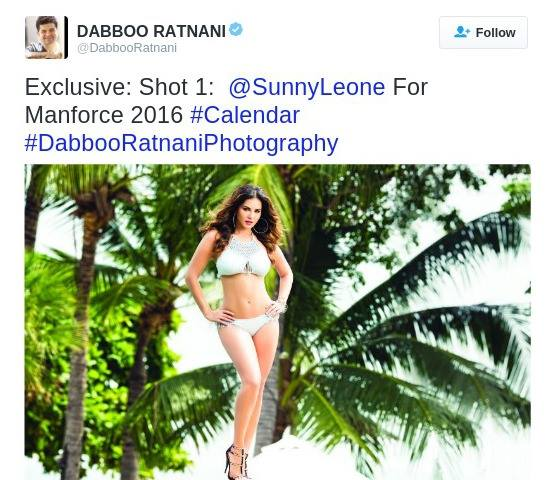 Sunny Leone Turns You On In this Calendar Photo Shoot !