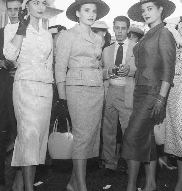 mulheres no Jockey Club anos 50