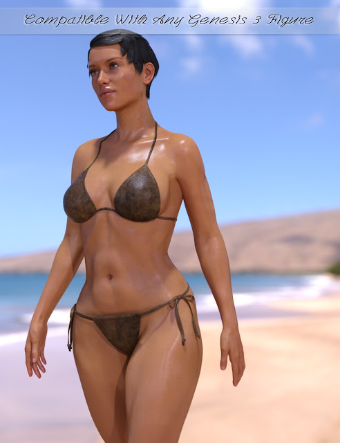 Wet and Tanned Skins for Genesis 3