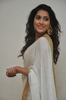 Actress Rashmi Gautham Pictures in White Saree at tur Talkies Audio Launch  0030.jpg