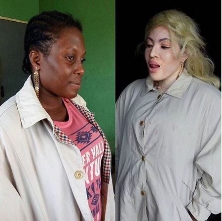 You Won't Believe This White Nigerian Actress Used to be Black (Photos)